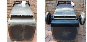 Wheelie Bin Base Patch Repairs & New Wheels